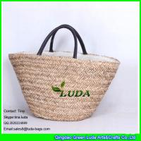 LUDA handmade straw handbag natural seagrass make straw bags Manufactures
