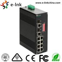 Unmanaged Industrial Grade Ethernet POE Switch DIN Rail Mount / Wall Mount Manufactures