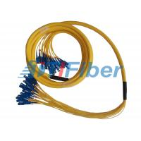 China Fiber Optic Jumper SM MM Simplex Duplex Breakout Fiber Optic Patch Cord Universal on sale