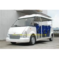 Quality 11 Seats Blue Airport Electric Car With High Frequency Onboard Charger for sale