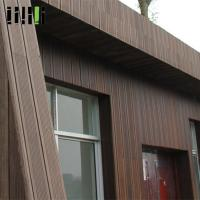 Waterproof Bamboo Wall Cladding 10-30mm Thickness With Incredible Bending Strength Manufactures