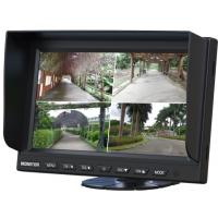 China Universal Automobile RGB High Resolution 9 Inch Car LCD Monitor With Quad Splitter Bulit-In on sale