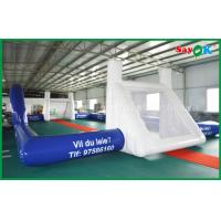PVC Waterproof Football Shaped Inflatable Pool Field For Outdoor CE Standard Manufactures