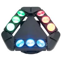 Quality Disco Lighting 9 Heads 10W 4 IN 1 LED Spider Moving Head Beam Light Energy for sale