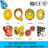 Quality OEM Corrosion Resistance Slurry Pump Parts for sale