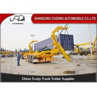 40ft Self Loading Container Trailer 3 * 13 Tons Axles Mechanical Suspension Manufactures