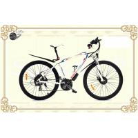 6061 Aluminium alloy 28'' Lithium Battery Bicycle Ebike with Shimano 21 Rear Derailleur Manufactures