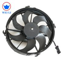 7 Curved Blade Bus Air Conditioner Fan Motor Replacement 6000 Hours Life Time Manufactures