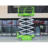 China Electric working height 14m with 320kg capacity hydraulic scissor lift for maintenance on sale