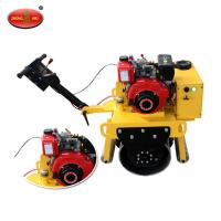 China High Quality ZM-700 Walking Type Single Drum Vibratory Road Roller on sale
