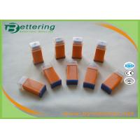 Sterile Safety Disposable Lancets Single Use With Pressure Activated 21G Red Colour Manufactures