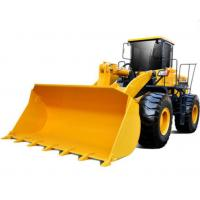 129kW 4 Ton Wheel Loader Luxury Cabin Decoration And A/C Provide Operator Comfort Manufactures