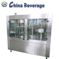 Washing Sealing Drinking Water Filling Machine 3 In 1 Monoblock Normal Pressure Manufactures