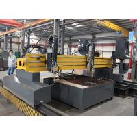 Single Sided Driven CNC Flame Cutting Machine , Sheet Metal Plasma Cutter For Any Shape Manufactures