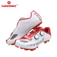 Excellent Ground Holding Cycling Shoes / Breathable Mens Mountain Bike Shoes Manufactures