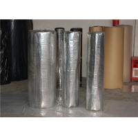 In Roll Soundproof Acoustic Insulation Foam With Aluminum Foil Black EPDM Manufactures