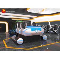 Amusement Park Equipment 6 seats indoor cinema 9d virtual reality experience game simulator Manufactures
