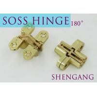 """Quality SOSS Mortise Mount Invisible Concealed Door Hinges With 4 Holes 2-3/4"""" Leaf Height 5/8"""" Leaf Width 23/32"""" for sale"""