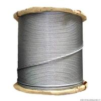 7 / 2.64mm Galvanized Guy Wire 5 16 Inch , High Strength Steel Cable 1000-1750 MPA Manufactures