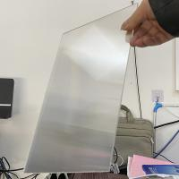 Plastic Lenticular 20 LPI flip lenticular effect thickness 3 mm designed for flip effect on injekt printer USA Manufactures