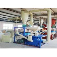 Abrasion Resistance Plastic Pulverizer Machine Automatic 60 Mesh Overload Protection Manufactures