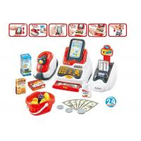 Pretend Children's Play Toys Cash Register With Scanner And Credit Card Machine Manufactures