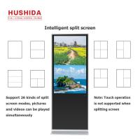 China 1920*1080 Resolution IR Touch Display 50 Inch Floor Standing ISO9001 24001 Approval on sale