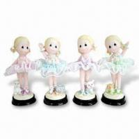 China Beautiful/Nice Design Polyresin Craft, Customized Designs are Accepted on sale