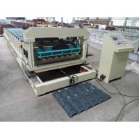 Solid Steel Shaft Metrocopo Tile Roll Forming Machine with CE certificate Manufactures