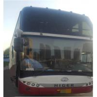 Higer 51 Seats Used Tour Bus International Standard Emission Euro III Manufactures