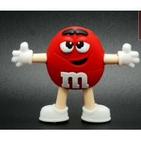 Cartoon Customized USB Flash Drive / flash memory PVC usb stick 8gb Manufactures
