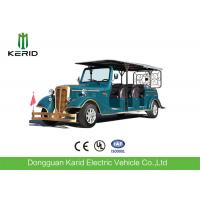 11 Seater Electric Vintage Cars , 7.5KW Sightseeing Electric Tourist Bus With AC System Manufactures
