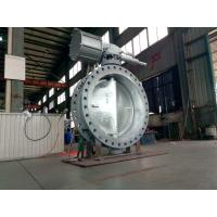 WCB Double Eccentric Butterfly Valve Actuator DN1200 High Performance Manufactures