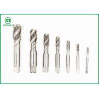 Buy cheap High Speed Spiral Flute Machine Tap , Blind Holes Thread Cutting Taps from wholesalers