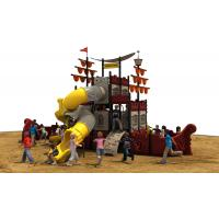 new designe pirate ship   and  outddoor playground equipment with slides for kids Manufactures