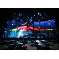 Quality Commercial Large Video Wall Displays , Seamless Stage Led Display for sale