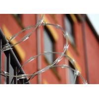 China Outdoor CBT - 65 Razor Barbed Wire Fence Hot Dipped Galvanized Mesh Fence on sale