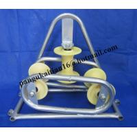 cable roller, galvanized,Cable roller with ground plate,Cable Guides rollers Manufactures