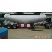 30 Tons To 80 Tons Reliability Bulk Cement Tank Semi Trailer With Q345 Carbon Steel Manufactures