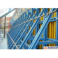 Painted Finishing Single Sided Wall Formwork  For Retaining Concrete Construction Manufactures