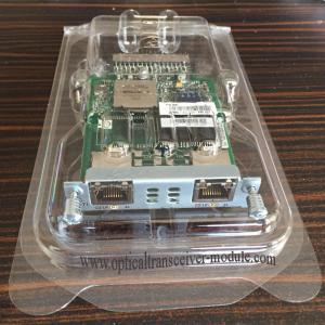 Original Label Cisco Ism Module , Cisco Network Card HWIC-2CE1T1-PRI Manufactures