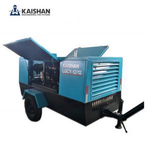Quality 2017 Hot sales! Kaishan air compressor/Portable diesel screw air compressor for sale