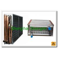 Galvanized Sheel Plate Ice Mud Air Cooled Heat Exchangers , Aluminum Fin Type Manufactures