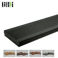 Fireproof Anti Slip Carbonized Strand Bamboo Flooring For Swimming Pool Manufactures