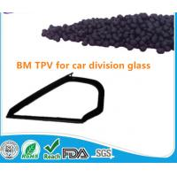 injection grade PP/EPDM TPV (Thermo Plastic Elastomer/Thermo Plastic Rubber) granules for car division glass Manufactures