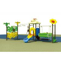 Metal Outdoor Kids Play Swing , Backyard Swing Sets Kids Outdoor Playset For Home Manufactures