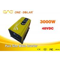 Single Phase Off Grid 3000 Watt Inverter Pure Sine Wave With LCD Display Manufactures