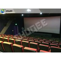 Advance 4D Sound Vibration Animation 4d Cinema Equipment For Business Center Manufactures