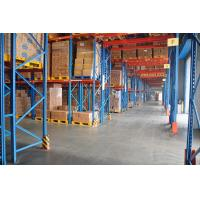 First In Late Out Heavy Duty Pallet Racks Upright 90 X 70 X 2.5 MM For Chemicals Industrial Manufactures