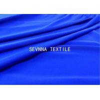 Solid Dyed Colors Spandex Blended Recycled Swimwear Fabric High Stretch Recovery Comfort Power Micro Fiber Manufactures
